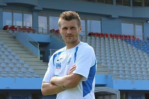 Michal Zeman v dresu FK Ústí nad Labem
