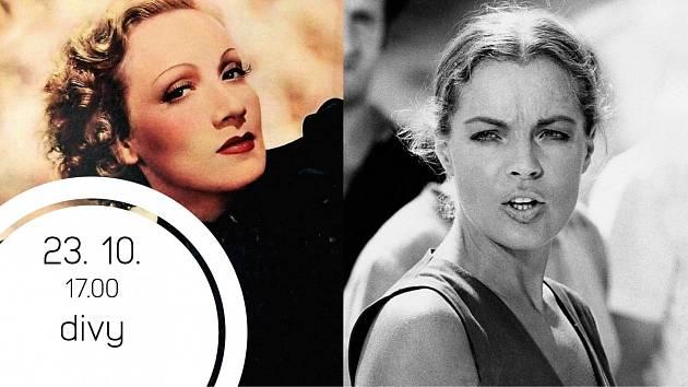 Marlene Dietrich & Romy Schneider