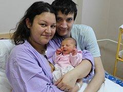 Melissa Mertová se narodila v ústecké porodnici 21.12. (19.43) Veronice Mertové. Měřila 48 cm, vážila 2,71 kg.