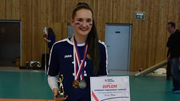 Volejbalistka Nicole Míková.