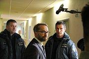 Natáčení druhé série kriminálního seriálu Rapl.