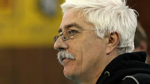 Miroslav Přikryl, trenér SKV Ústí nad Labem.