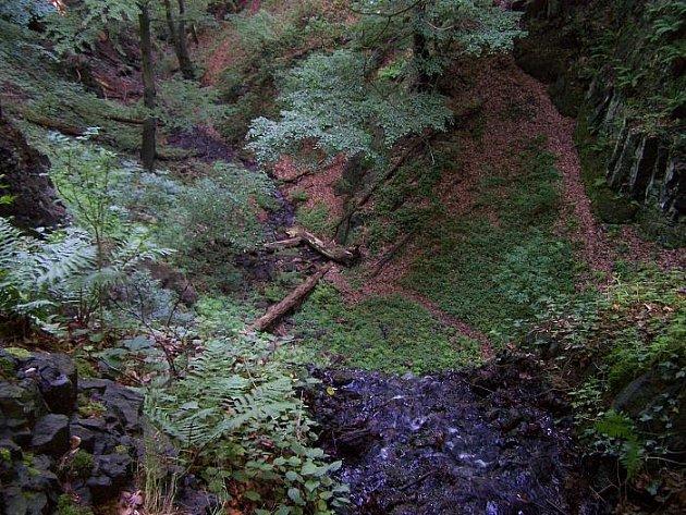 Také na Ústecku se najdou romantická místa a krásná příroda.