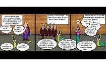 Komiks na sobotu: Když se politikům od úst práší...