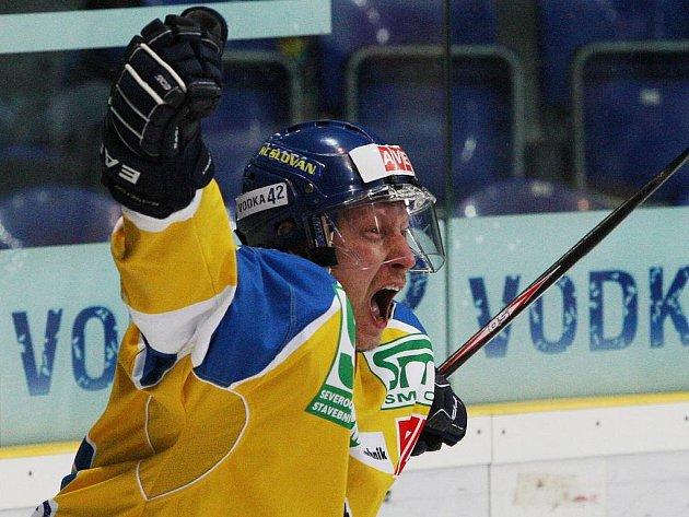 Zkušený útočník Pavel Janků odehrál v ústeckém dresu pět povedených sezon.