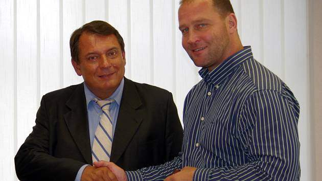 Jiří Paroubek a Jiří Šlégr.