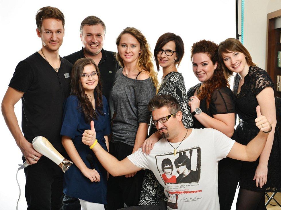 Tým odborníků, který promění s Deníkem od listopadu do ledna dalších šest žen v již třetím ročníku soutěže.