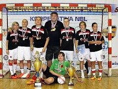 Futsalistky Slavie Sokol Vysočany ovládly MČR, které se konalo v Ústí nad Labem.