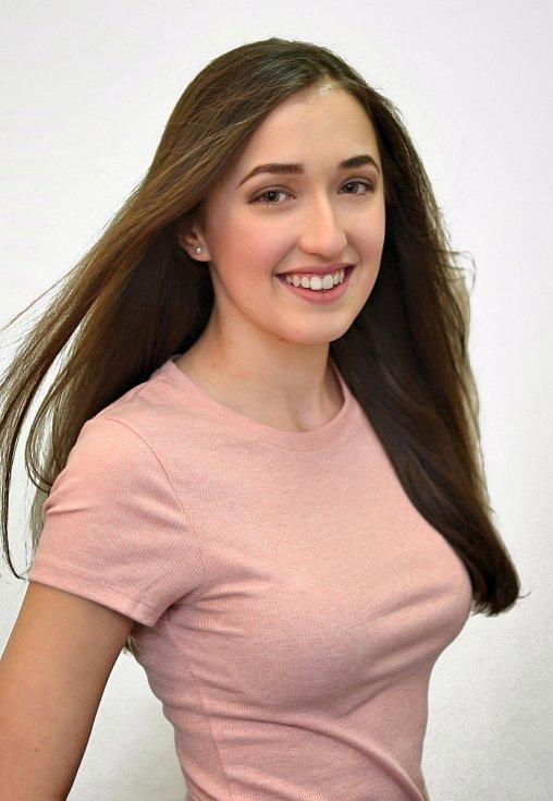 3. Karolína Bubáková, 16 let, Louny