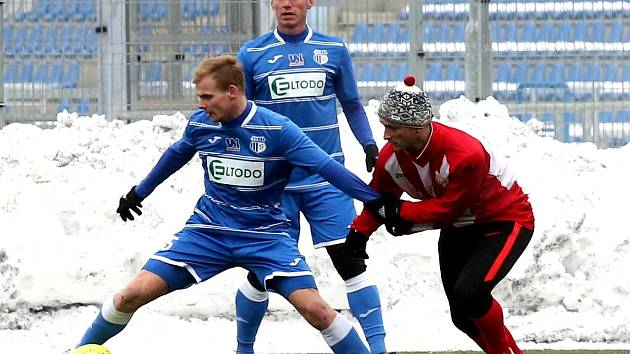 Fotbalisté Ústí nad Labem. Ilustrační foto.