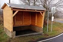 Jedna z nových zastávek, která bude sloužit občanům Doubravic