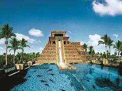 The Reef Atlantis, Paradise Island City, Bahamské ostrovy.