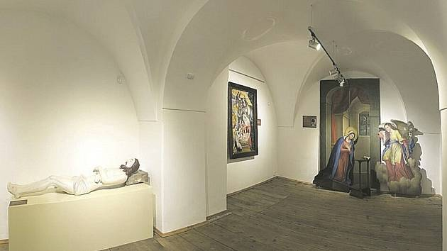 """V září byla v Loretě v Rumburku otevřena nová """"Expozice církevního umění Šluknovska"""" ve zrekonstruovaných prostorách, které byly dříve veřejnosti nepřístupné."""
