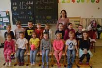 1.B, ZŠ Vinařská, Ústí nad Labem, třídní učitelka Mgr. Jana Sobotková.