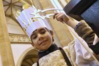 Žehnání koledníků Tříkrálové sbírky v Ústí nad Labem