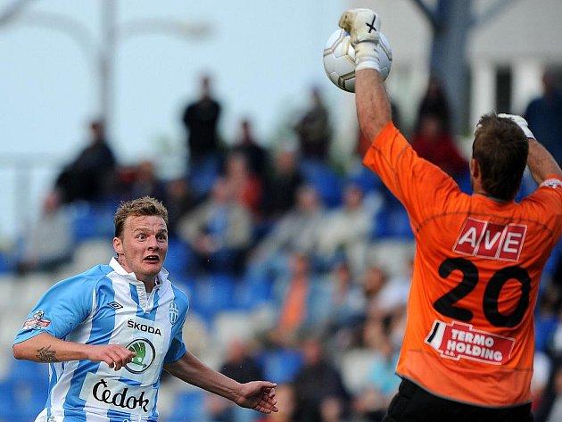 Fotbalisté Ústí se rozloučili s ligou porážkou.