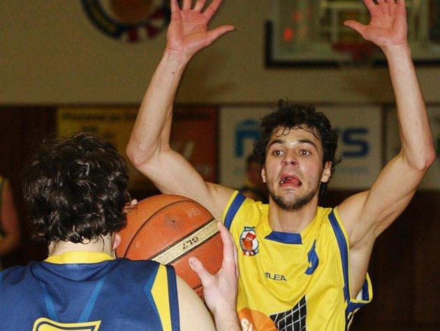 Ústečtí basketbalisté deklasovali bezradnou Ostravu. Ilustrační foto.