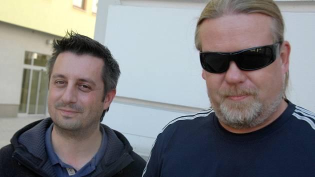 Luboš Machoň (vlevo) pořádá Ostrovní festival v Litoměřících 0f118b6d246