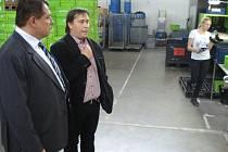 Podpora středních a menších podnikatelů v Ústeckém kraji, to je jedno z hlavních témat práce poslance za Ústecký kraj, Jiřího Paroubka (NS LEV21).