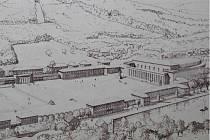 Návrh obřího ústeckého stadionu z dob nacismu po letech historikové našli v archivu.