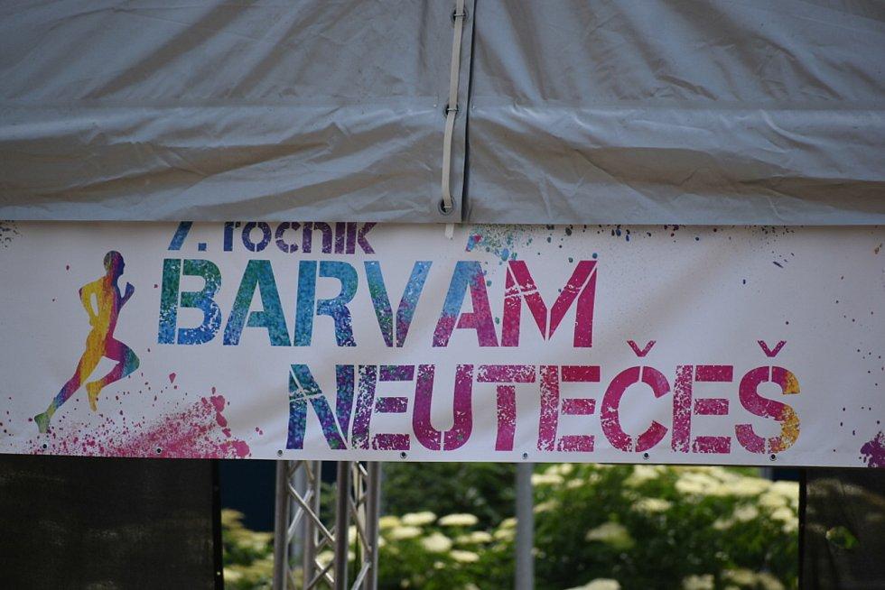 Akce Barvám Neutečeš v Ústí nad Labem.