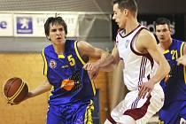 Talentovaný Adam Žampach (5) musí kvůli zranění kotníku na nějaký čas na basketbal zapomenout.