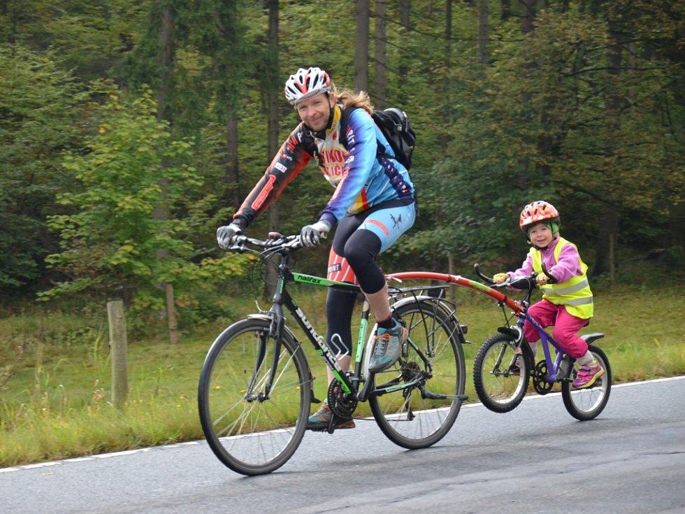 V cykloregionu Krušné hory se cyklisté díky kvalitnímu značení lehce zorientují.