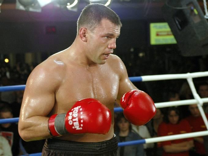 Litoměřický boxer Roman Kracík.