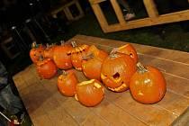 Halloween na Severní Terase.