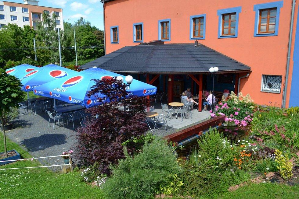 Restaurace Medusa sídlí na Severní Terase.