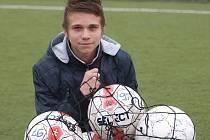 Čtrnáctiletý Daniel Ritschel patří mezi fotbalové talenty FK Ústí.