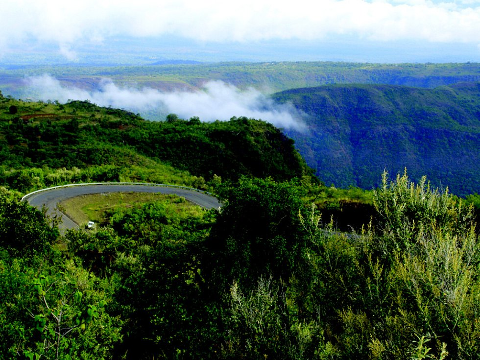 Vstup do Rift Valley