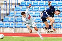 Ústeckého útočníka Aidina Mahmutoviče bylo při utkání se Slováckem plné hřiště. Bosenský forvard se nakonec přeci jen prosadil a vstřelil gól. Trefí se i proti Fulneku?