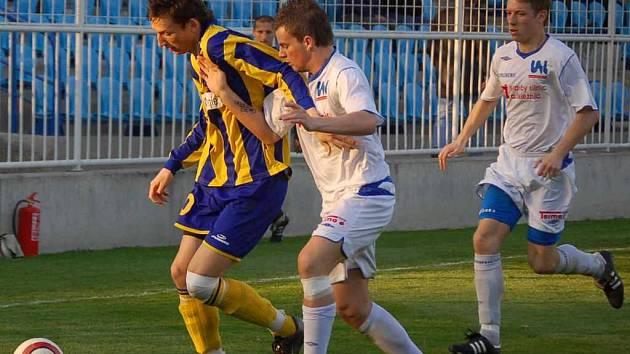 V Opavě prohráli fotbalisté Ústí 0:2