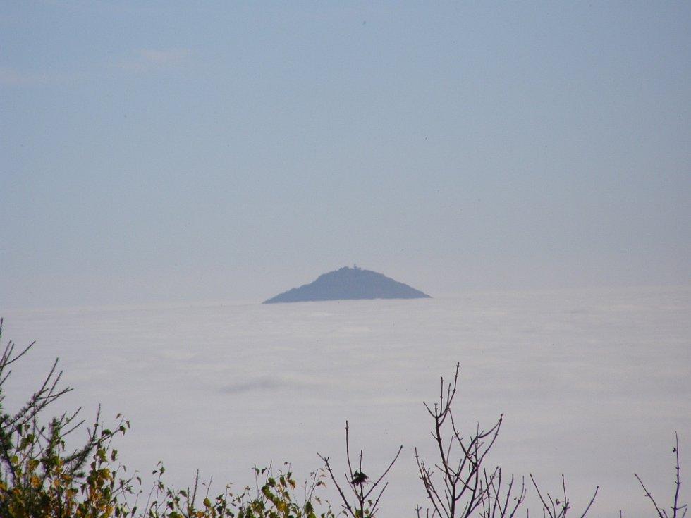 17. Ostrov Milešovka.
