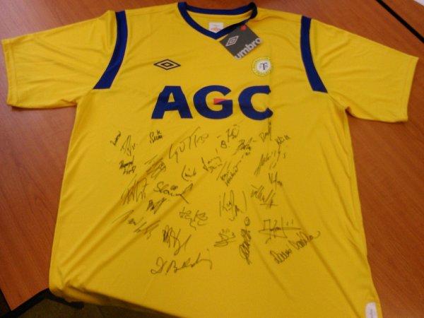 Podepsaný dres FK Teplice
