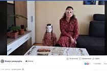 Povídání o pejskovi a kočičce na facebooku Muzejní pedagogiky