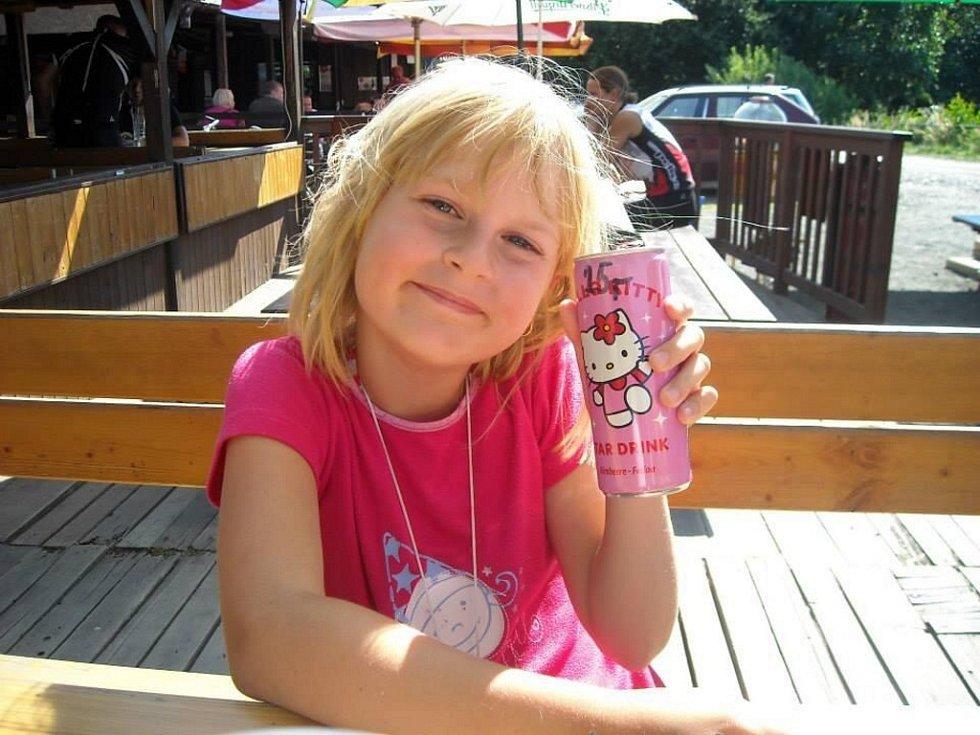 50. BARUNKA RULÍKOVÁ, 8 let, Ústí nad Labem.