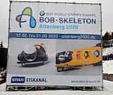 Světový pohár bobu a skeletonu v Altenbergu zval na mistrovství světa, keré se uskuteční v roce 2020.