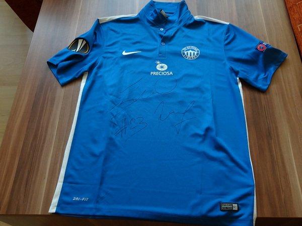 Podepsaný dres Slovanu Liberec
