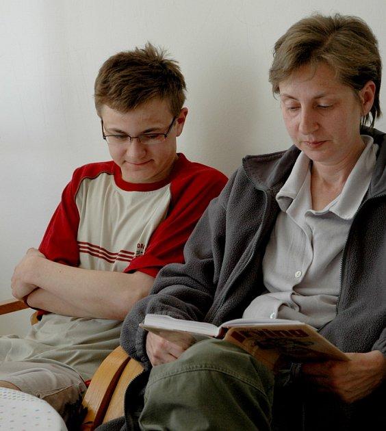 Hana Fárková a její syn Lukáš