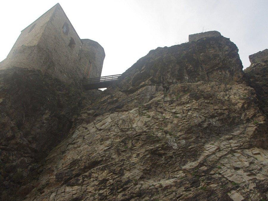 Začátek turistické sezóny na hradě Střekově.