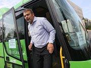 Regionální ředitel TD Bus Milan Toms.