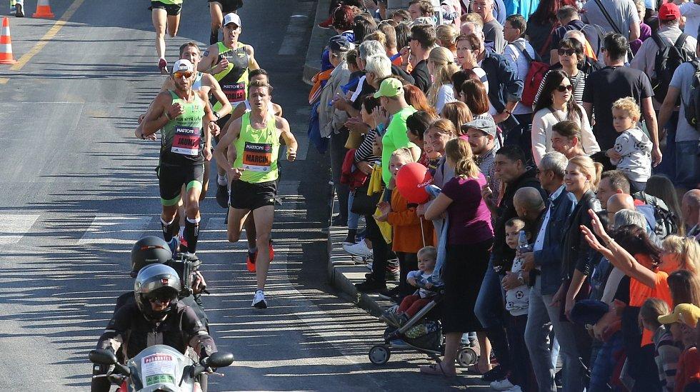 v Ústí nad Labem se běžel již devátý půlmaraton.