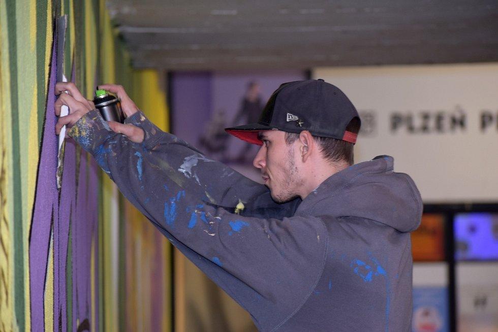 Plzeňští tvůrci dělali graffiti