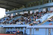 Městský stadion v Ústí nad Labem.