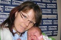 Anna Vorreiterová, porodila v ústecké porodnici dne 3. 9. 2010 (9.28) dceru Dianu (50 cm, 3,45 kg).