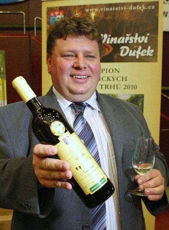 Vinařství Josef Dufek, Svatobořice Mistřín je již tradičním sběratelem nejvyšších ocenění na Vinařských Litoměřicích. Letos si odváží sedm zlatých medailí.