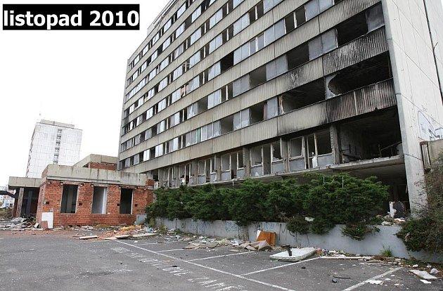 Hotel Máj listopad 2010