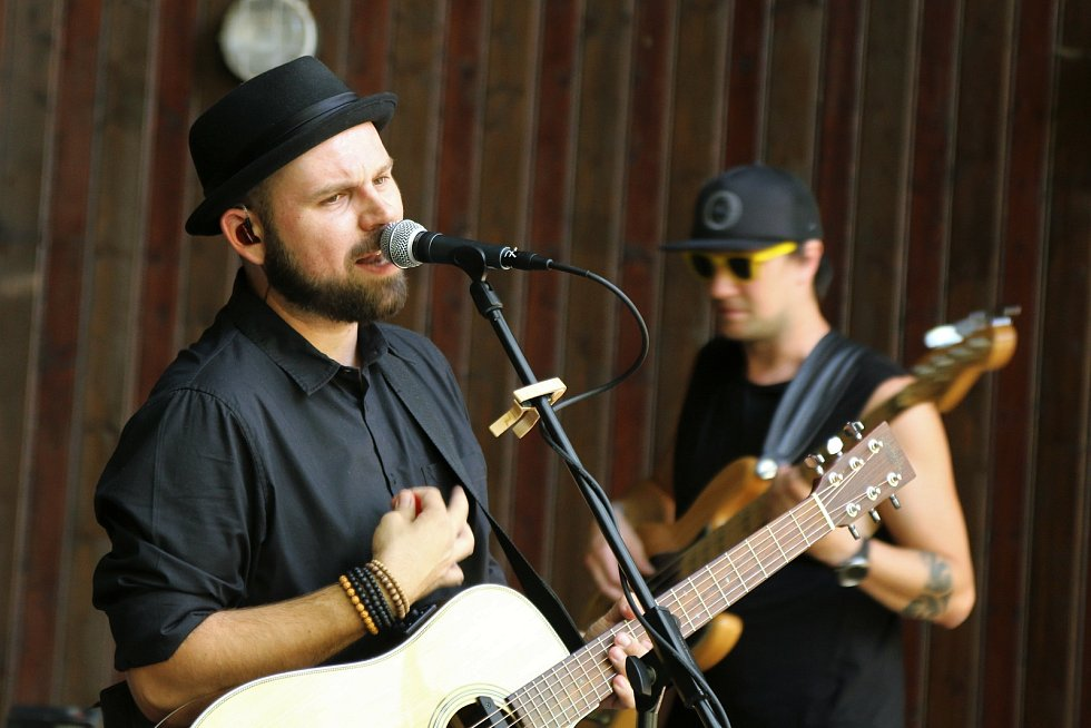 Další pokračování série hudebních koncertů Malý Hamburk se odehrálo v Městských sadech v Ústí nad Labem.